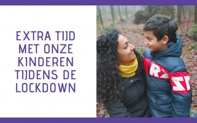 Lockdown 2: Extra tijd met onze kinderen